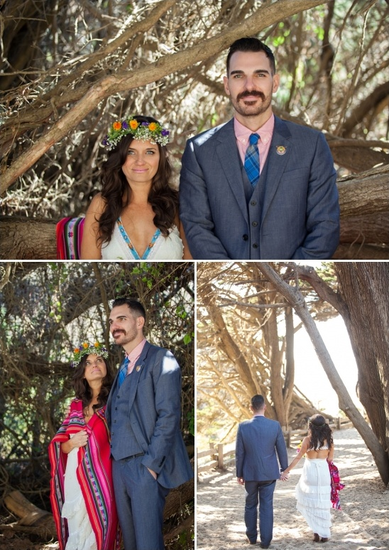 Big Sur wedding couple