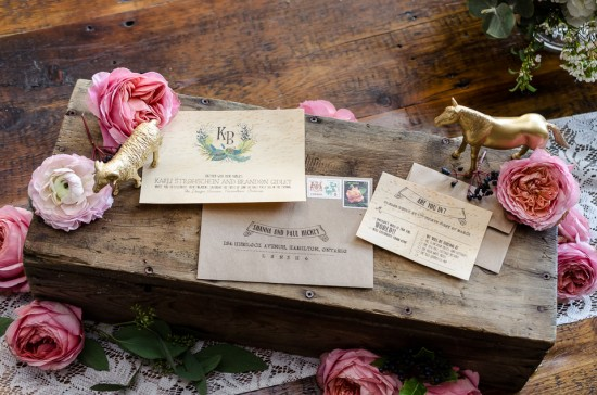 Vintage Stylized Engagement Celebration