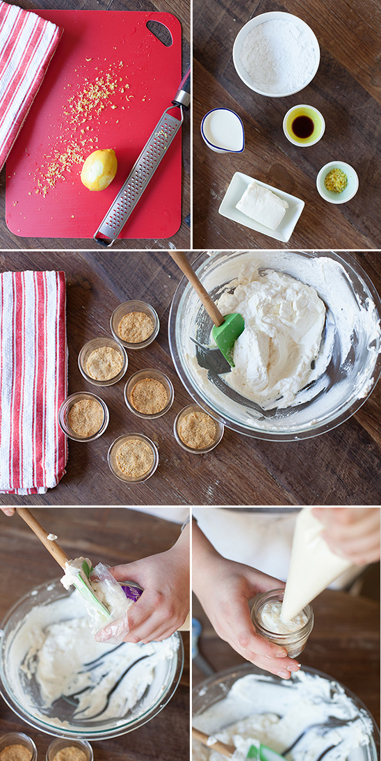 DIY cheesecake filling