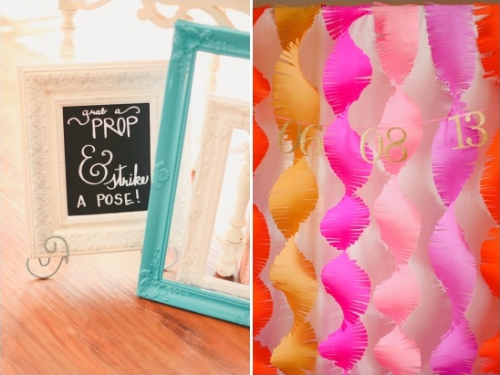 diy photo booth grab a prop and strike a pose