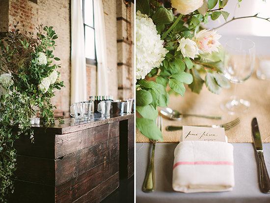The Green Building - Modern Brooklyn NY Wedding by Cmostr Photography