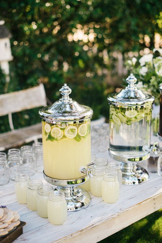 elegant drink table ideas