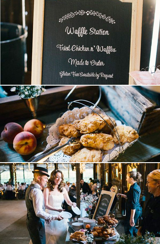 waffle station at your wedding