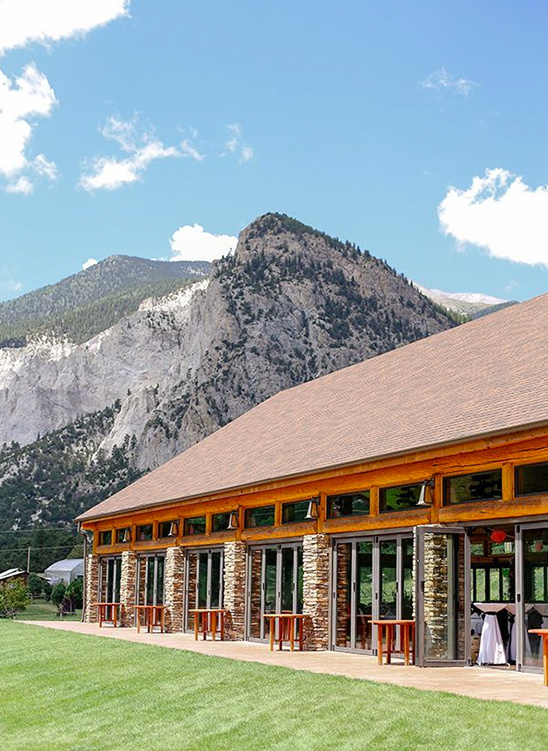 Colorado wedding venue Mount Princeton Hot Springs