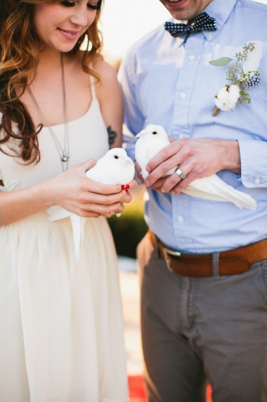 release doves at your wedding