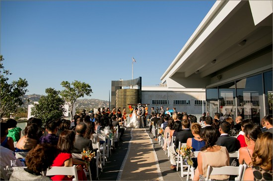 Petersen Automotive Museum Wedding