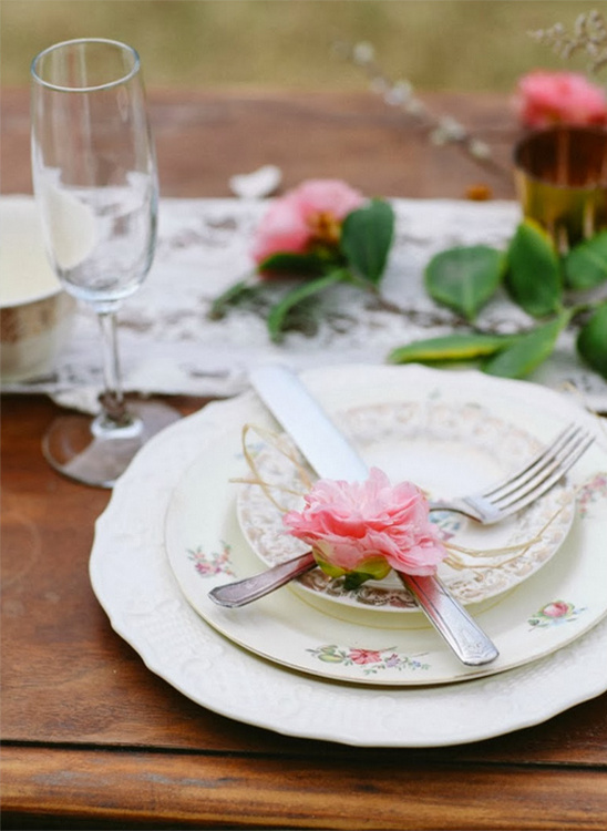 vintage table decor ideas