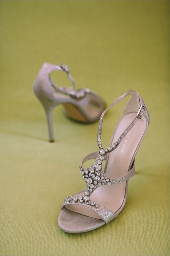diamond wedding shoes