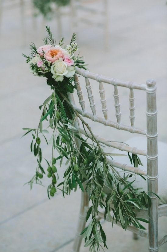 jazz up your wedding chairs