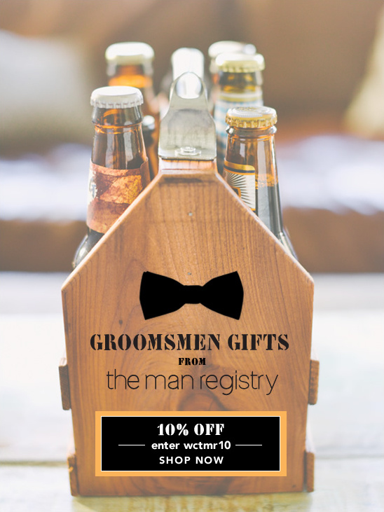 Groomsmen Wedding Gift: Groomsmen Gift Ideas From The Man Registry