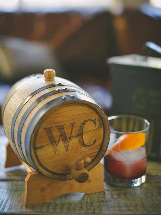 Groomsmen Gift Idea: Personalized Mini Bourbon Whiskey Barrel
