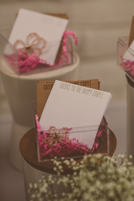 love notes to the bride and groom