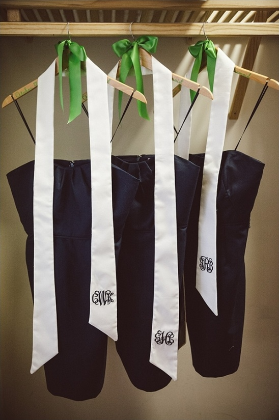 custom bridesmaids wedding sashes