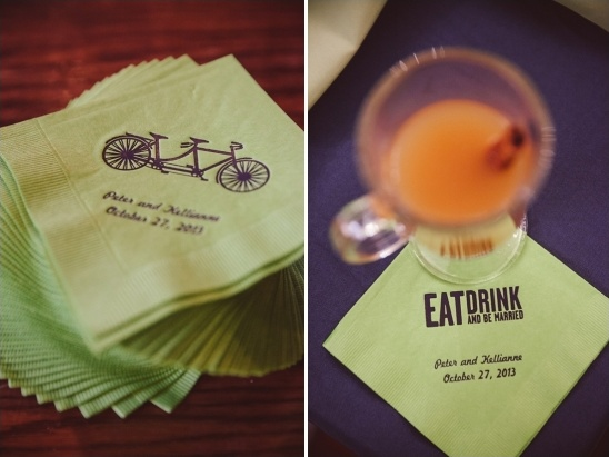 customized drink napkins