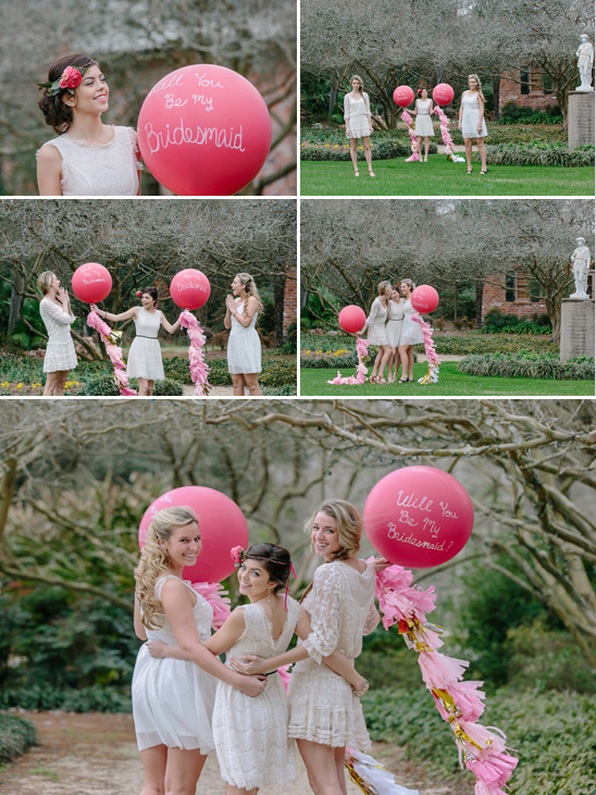 giant will you be my bridesmaid balloons