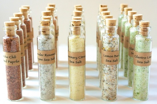 Mini Flavored Sea Salt Favors