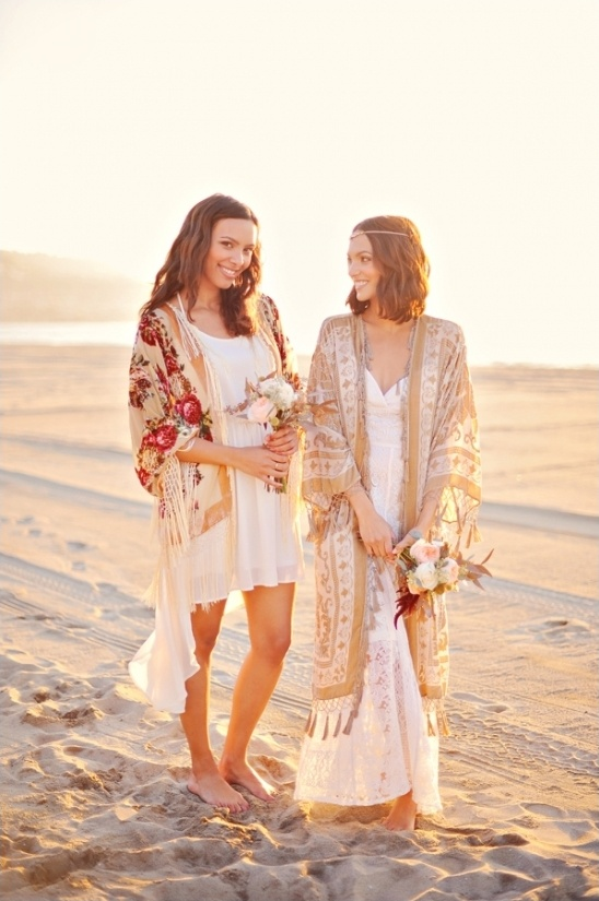bohemian bridal party ideas