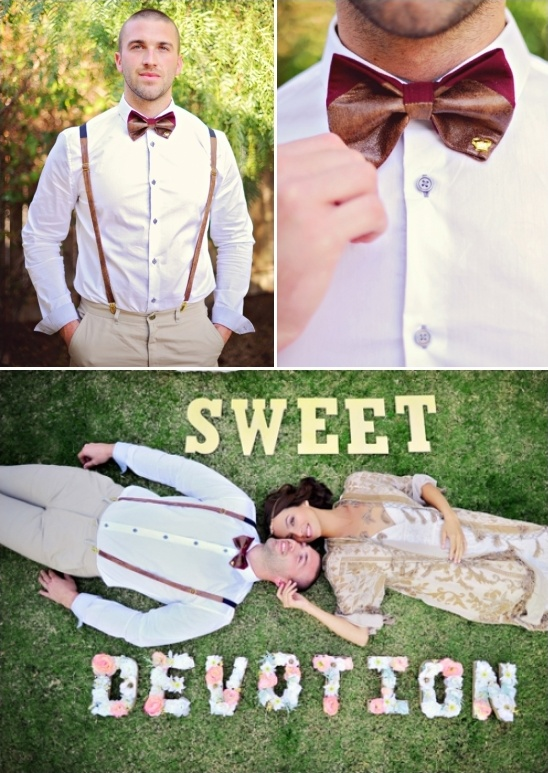 bohemian groom ideas