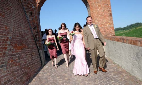 Wedding and vineyards in Italy