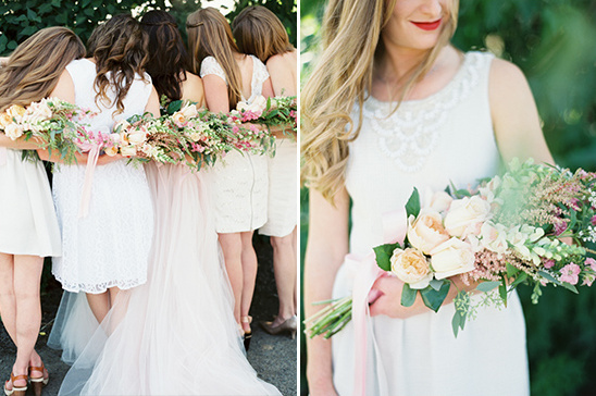 bridesmaid florals