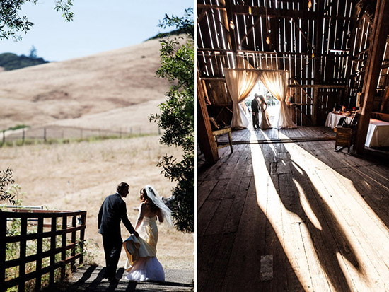 Farm and Barn Wedding in Sonoma