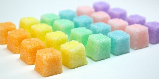 Flavored Sugar Cubes for a Champagne Toast