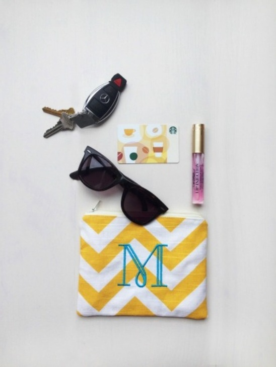 Bridesmaid Gifts in Chevron