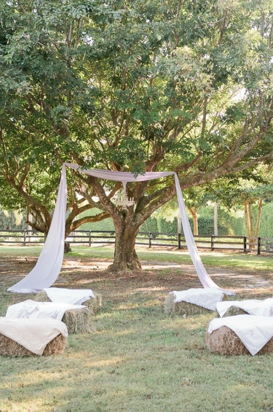 rustic outdoor wedding ceremony ideas