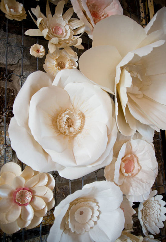 giant paper flower decor