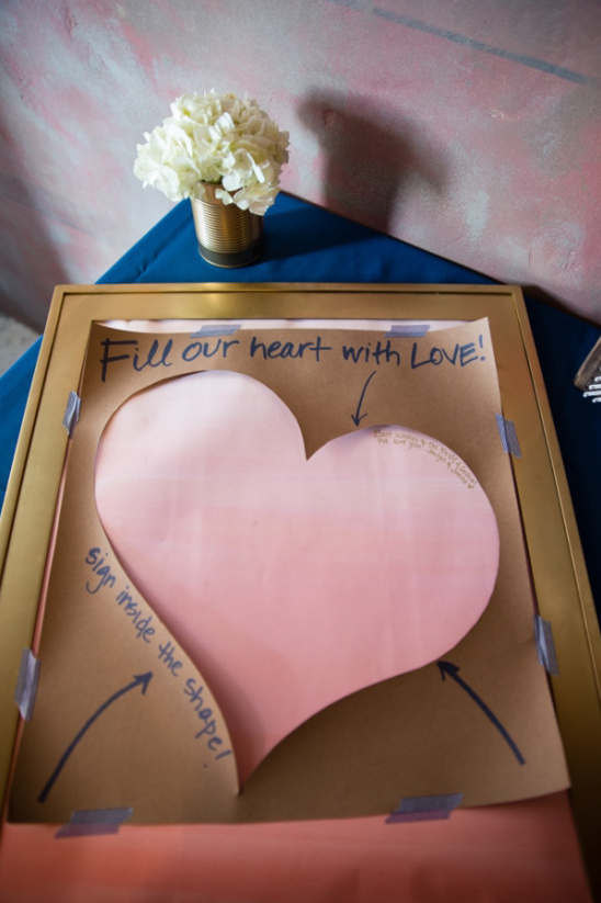 Fill our heart with love guestbook