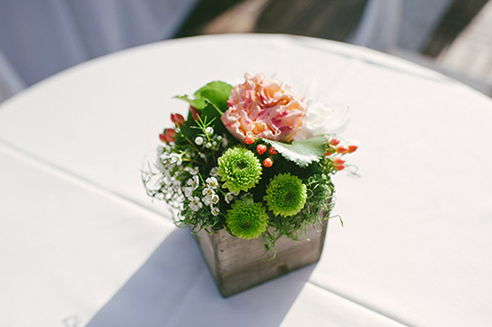 square box floral centerpiece ideas