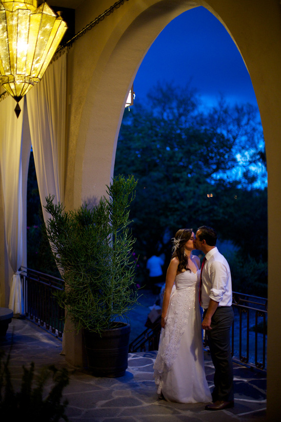 lantern lit reception