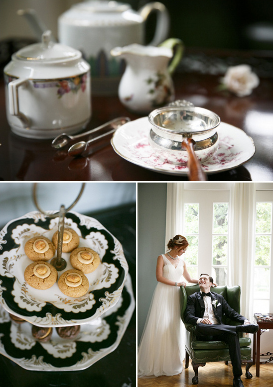 prewedding tea party