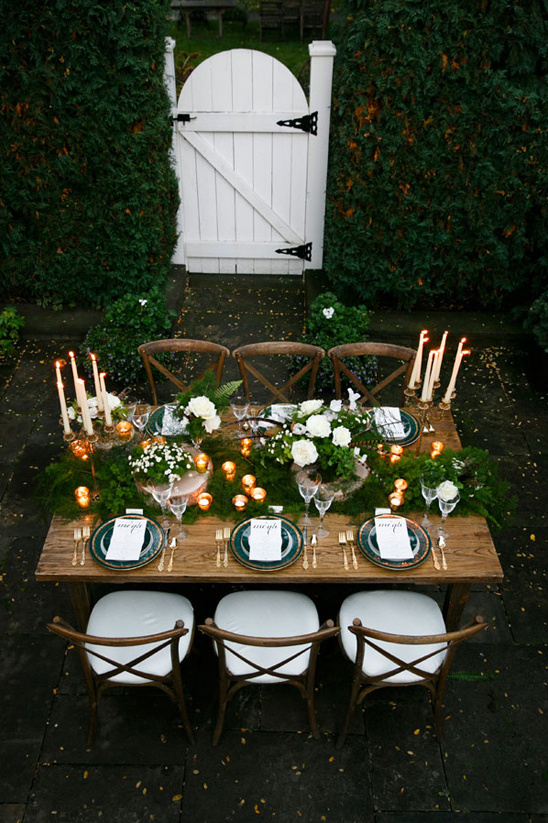 sherwood forest inspired reception