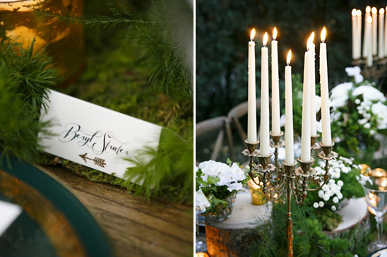 robin hood themed place cards