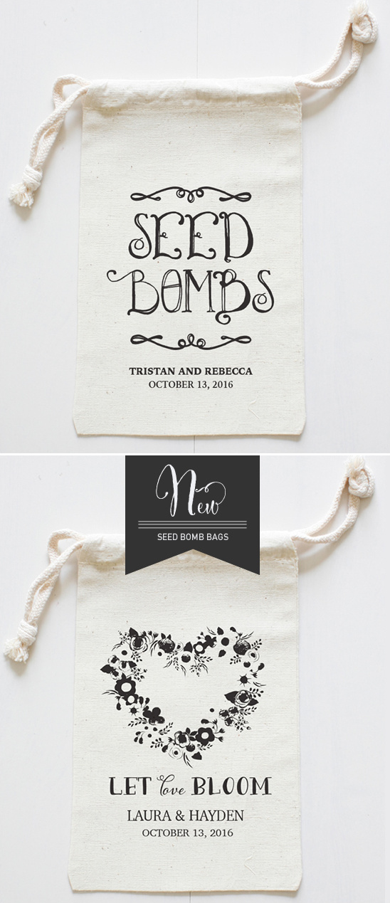 seed bomb bags