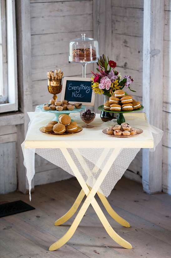 quaint dessert station