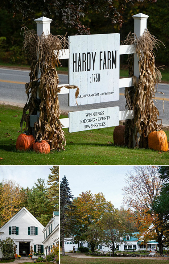 Hardy Farm Wedding Venue