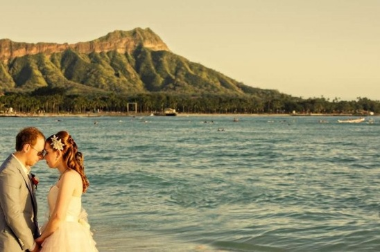Adelaide + Toni Hawaii Destination Wedding ~ Moana Sufrider