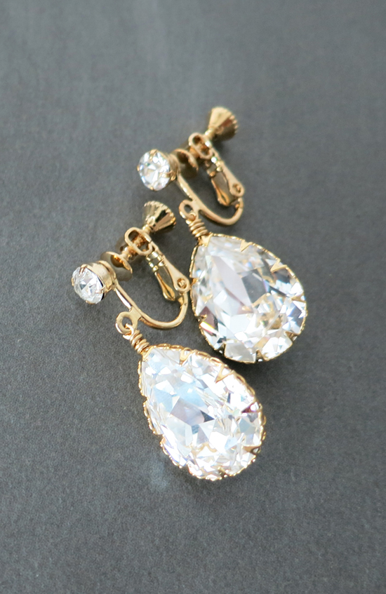 Clip - On Earrings for Brides / Bridesmaids