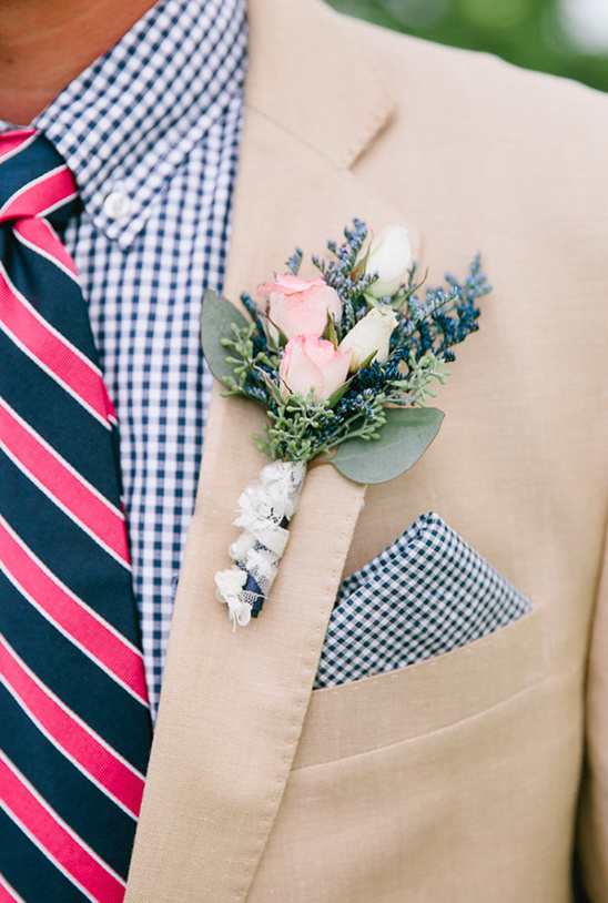 navy and pink groomsman idea