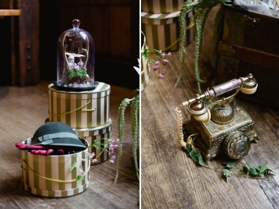 fun vintage photo booth props