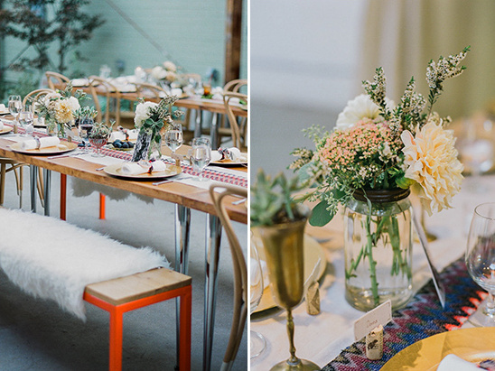 eclectic tablescapes