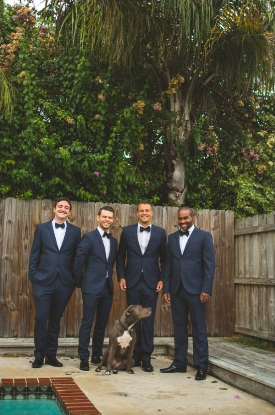 navy blue groomsmen ideas