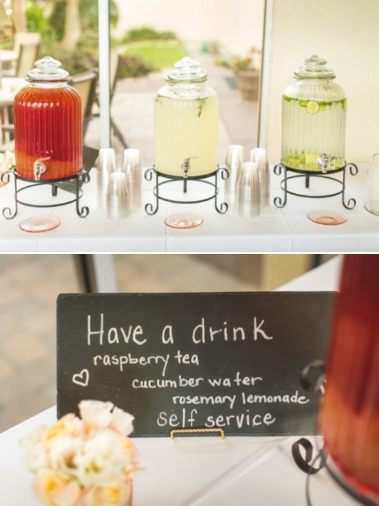 easy elegant drink station