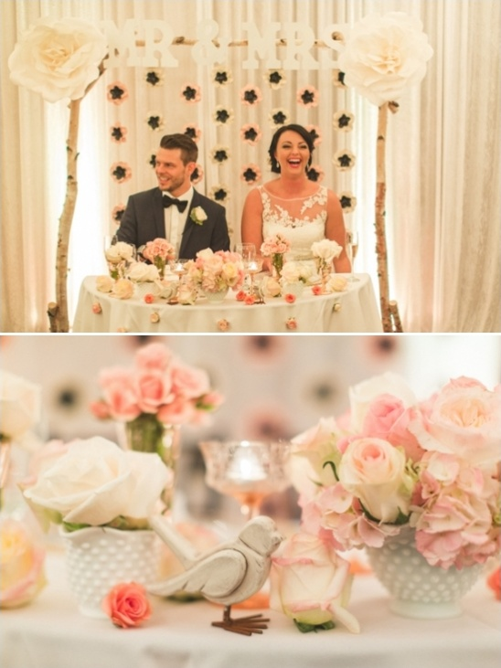 sweetheart wedding table ideas
