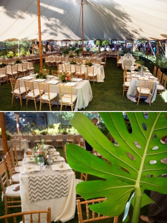 wedding reception tent ideas