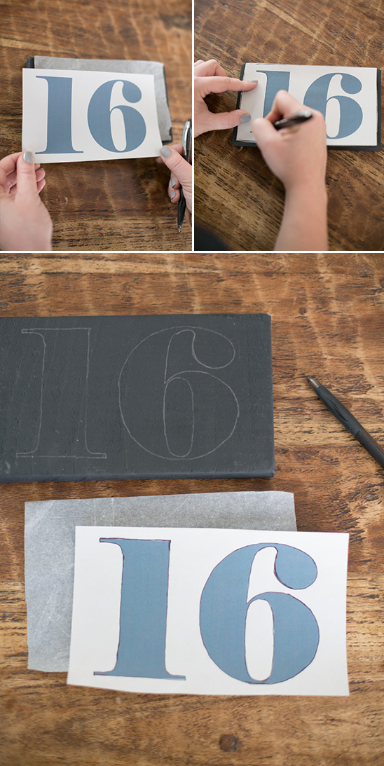 transfer table number