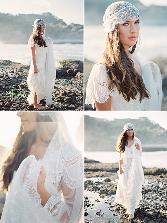 New Zealand Beach Bridal Session