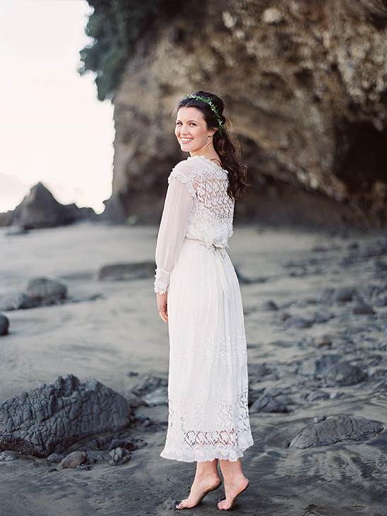 vintage inspired wedding dress by Rue de Seine